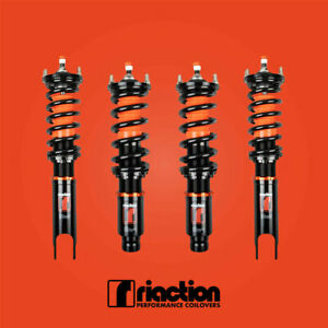 For 88 91 Honda Civic Crx Riaction Coilovers 32 Way Adjustable Coilovers