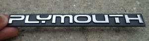 Plymouth Voyager Grill Emblem Badge Decal Logo Symbol Grille Oem Genuine Stock