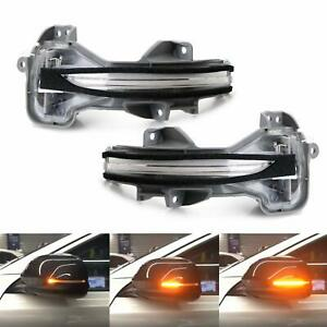2x Sequential Side Mirror Trun Signal Lights For Honda Accord 9 5th 2012 2018