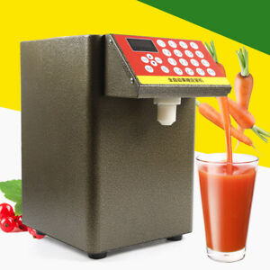 400w Automatic Fructose Quantitative Milk Bubble Tea Syrup Dispenser Equipment