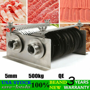 Commercial Meat Slicer Stainless Steel Blade Deli Food Cutter Cutting Machine