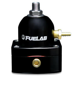 Fuelab 525 Carb Adjustable Fpr In line Large Seat 1 3 Psi 1 6an In 1 6an R