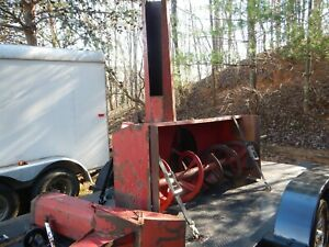 Ber vac 655 Tractor 3 Point Pto Snow Blower 80 W Bervac