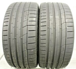 Two Used 245 35zr19 2453519 Continental Extreme Contact Sport 8 32 N245