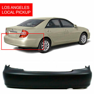 Primed Rear Bumper Cover Replacement For 2002 2006 Toyota Camry Usa 02 06 La