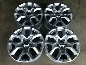 Set Of 4 Jeep Renegade 17 Wheels Factory Oem Wheel Rim 2015 2018