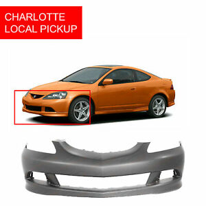 Primed Front Bumper Cover For 2005 2006 Acura Rsx Coupe Ac1000154 Clt