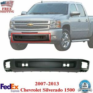 Front Lower Valance W O Tow Hook Holes For 2007 2013 Chevrolet Silverado 1500