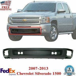 Front Lower Valance With Tow Hook Holes For 2007 2013 Chevrolet Silverado 1500