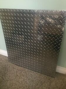 5086 Aluminum Diamond Bright Tread Plate 1 8 X 24 X 26 Fedex 7 Shipping