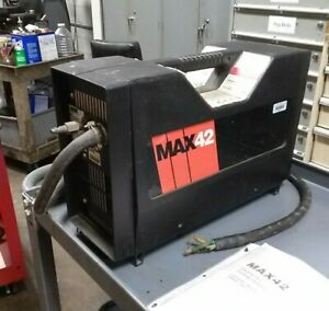 Hypertherm Model Max42 Plasma Cutter With 25 Of Cable 208 240 1 Phase