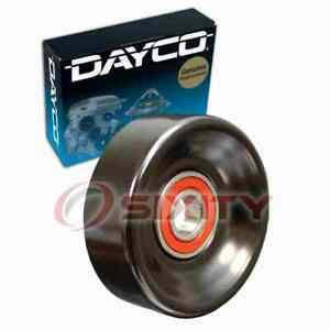 Dayco Drive Belt Idler Pulley For 1997 2002 Ford Escort Engine Bearing Uj