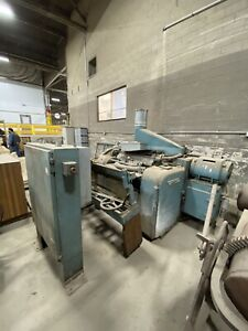 Whitney newman S970 S2s Double Surfacer Planer W Helical Cutting Heads