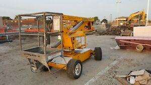 Nifty 2010 Narrow Battery Sp34 Articulating 40 Working Boom Lift