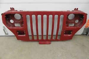 Oem Jeep Yj Wrangler Front Grill Assembly 1988 1995