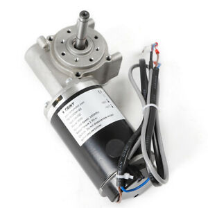 Right Angle Electric Worm Decelerate Door Gear Electrical Machine Encoder Brushe