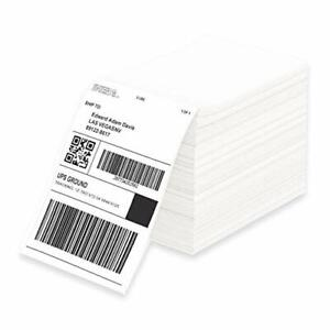 Fanfold 4 X 6 Direct Thermal Shipping Barcode Certified Ups Labels Zebra