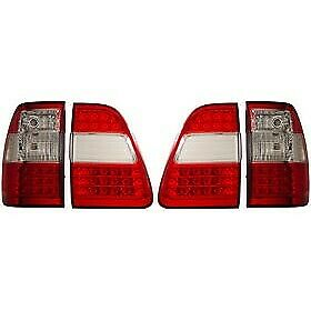 311094 Anzo Tail Lights Lamps Set Of 2 Driver Passenger Side New Lh Rh Pair