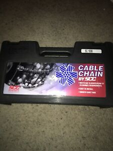 Security Chain Company Sc1030 Radial Chains Cable Traction Tire Chain Scc