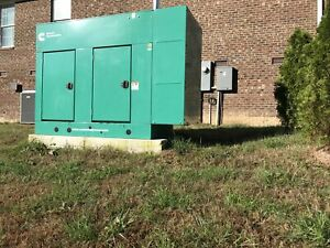 Cummins Standby Generator 40kw 200amp Single Phase Natural Gas under 15 Hrs