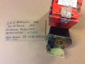 Alfa Romeo Alfetta Gtv External Regulator Nos