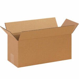 25 14 X 6 X 6 Corrugated Shipping Boxes Storage Cartons Moving Packing Box