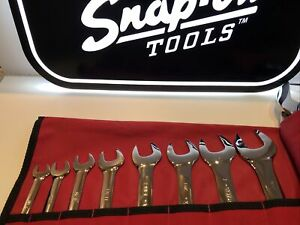 Snap On Lta812 Slimline 15 Degree Offset Inches Imperial 12 Piece Set