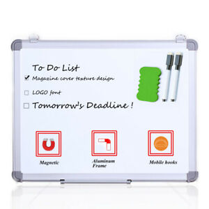 Viz pro Small Dry Erase Board Magnetic Whiteboard 18 X 12 Inches Home School