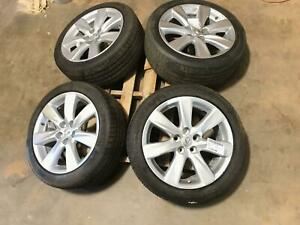 07 12 Lexus Ls460 Ls600h 19 7 Spoke Alloy Wheels Rims Tires Wheel Set Oem