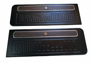Ford Maverick Grabber Wood Comet Deluxe Front Door Panels 1970 1972