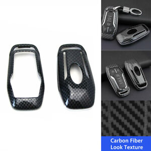 For 2013 2019 Ford F 150 Lincoln Mkc Carbon Fiber Smart Remote Key Cover Shell