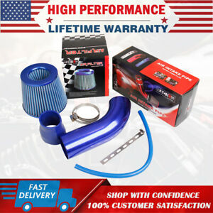 3 Car Cold Air Intake Filter Alumimum Induction Kit Pipe Hose System Universal