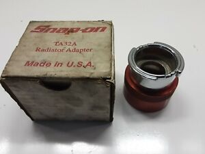 Snap On Ta32a Radiator Adapter Free Shipping 82m