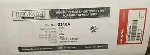 Reliance Q series 10 Pole Transfer Switch From Honda Q310a 30amp