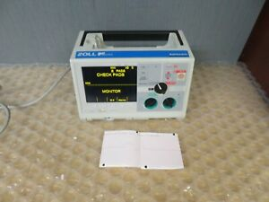 Zoll M series Biphasic 3 Lead Monitor Ecg Pacer Print 18194