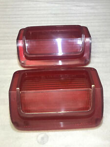 1965 Plymouth Belvedere I Tail Light Lenses Race Hemi 426 Mopar 2445976 A990