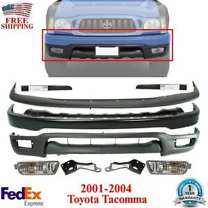Front Bumper Filler Valance Fogs Brackets For 2001 2004 Toyota Tacoma 4wd