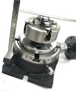 Milling Indexing 4 100 Rotary Table Small Chuck Fixing T Nut Bolts
