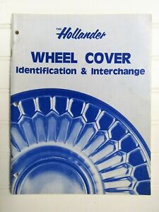 1982 The Hollander Wheel Cover Identification Interchange Book
