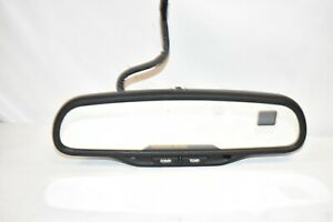 15176974 Tested Tahoe 015322 Onstar Compass Temp Auto Dim Rearview Mirror C2b08