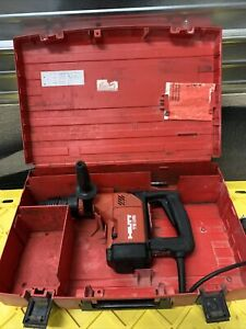 used hilti Te25 Corded Rotary Hammer Drill W case