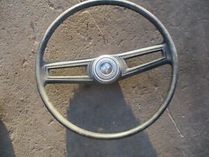 71 72 73 74 75 76 77 Dodge B Series Van Steering Wheel W Horn Button Center Oem