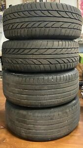 2012 2018 Set Of Rims And Tires 4 Bmw 18 Inch 7845880 F30 F32 Oem