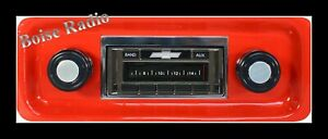 1967 1972 Chevy Pickup Truck Am Fm Stereo Radio Usa 230 200 Watts Auxiliary In