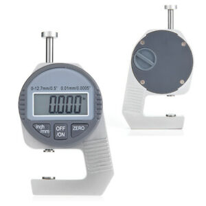 Thickness Gauge Digital Lcd Readout Percentile Thickness Gauge 0 12 7mm 0 5