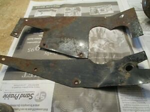 1950 Ford Coupe Shoe Box Floor Pan Access Cover Around Steering Column Pedal