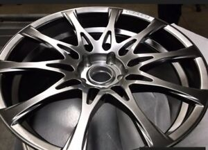 Lexus 19 Staggered Full Face F Sport Forged Alloy Wheels Rear