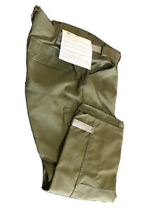 Coaxsher Citadel Wildland Firefighting Pants Green 38x30 Made With Kevlar Nomex
