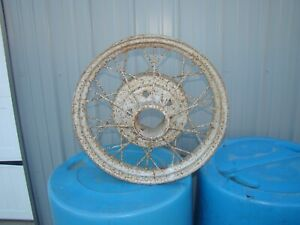 Model A Ford 19 Wire Wheel Use Or Decoration