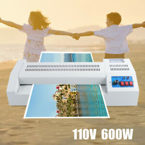 Laminator Machine 110v 600w Heavy Duty A3 A4 Rollers System For Home Office Usa